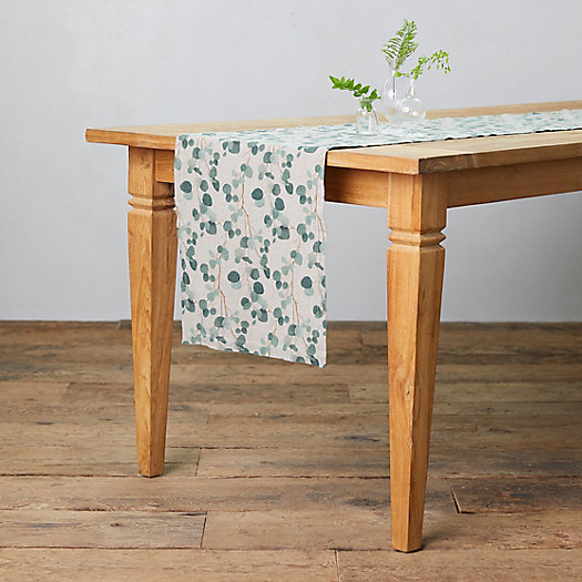 View larger image of Eucalyptus Linen Runner