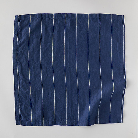 View larger image of Lithuanian Linen Napkin, Large Stripe