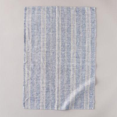 Lithuanian Linen Tea Towel, Multi Stripe