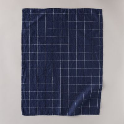Lithuanian Linen Tea Towel, Windowpane