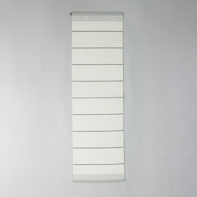 Pappelina Reversible Runner, White Stripe