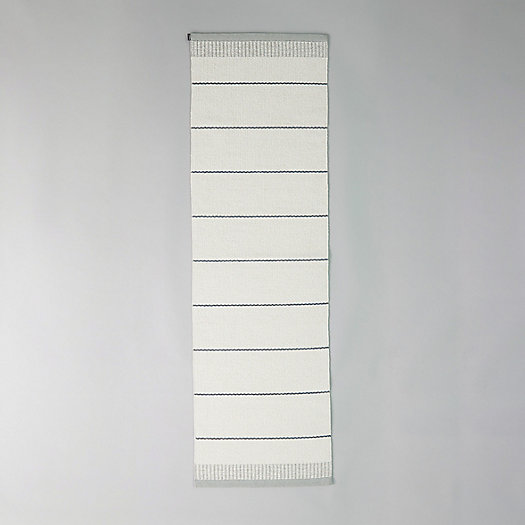 View larger image of Pappelina Reversible Runner, White Stripe