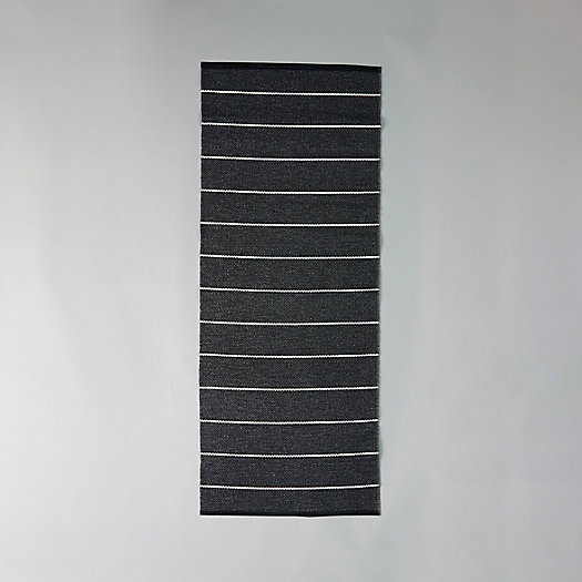 View larger image of Pappelina Reversible Runner, Black Stripe