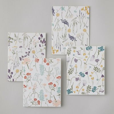 Wildflower Greeting Cards, Set of 8