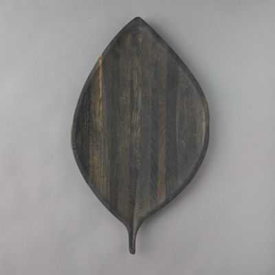 Leaf Oak Serving Plate