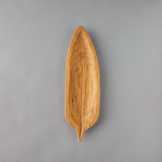 View larger image of Leaf Oak Serving Platter