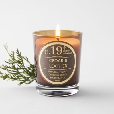 Cerabella Candle, No. 19 Cedar + Leather