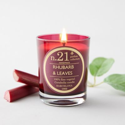 Cerabella Candle, No 21 Rhubarb +  Leaves