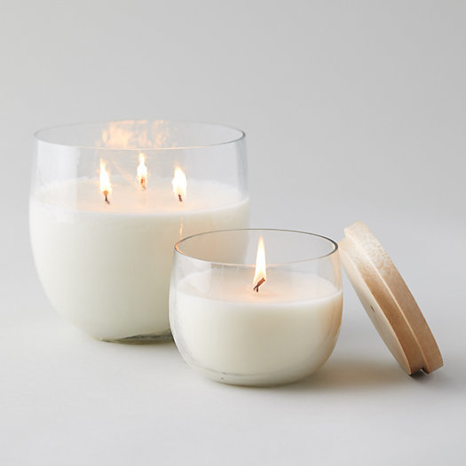 View larger image of Hammered Glass Citronella Candle