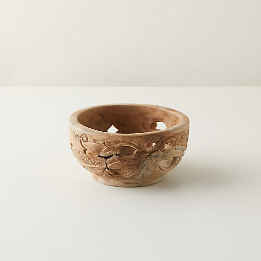 View larger image of Carved Teak Serving Bowl