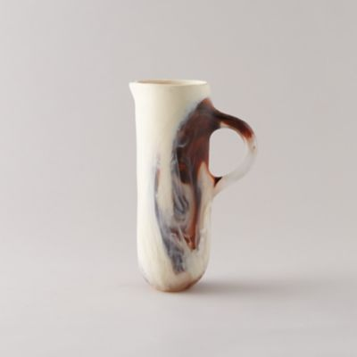 Marbled Resin Pitcher