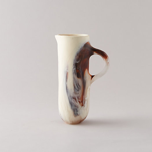 View larger image of Marbled Resin Pitcher
