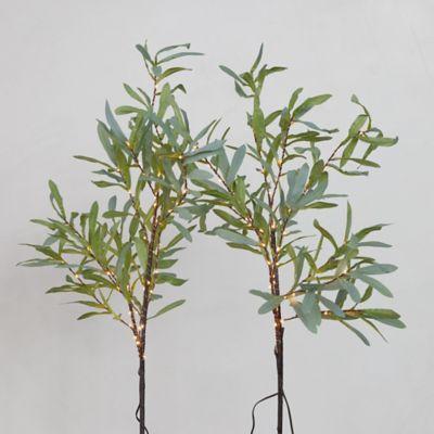 LED Leaf Branch Set