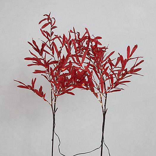 View larger image of LED Leaf Branch Set