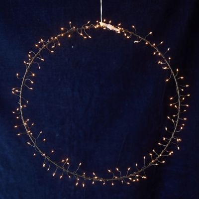 Stargazer Illuminated LED Wreath