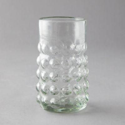 Bubbled Highball Glass