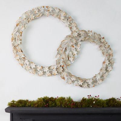 Iron Floral Wreath
