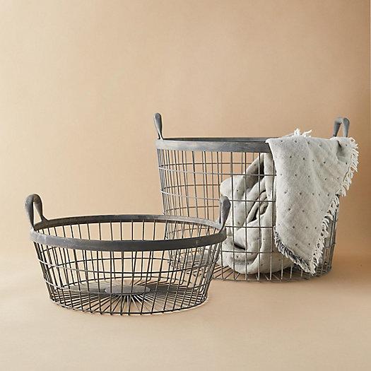 View larger image of Zinc Basket