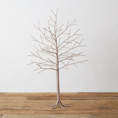 Jute Wrapped Iron Tree