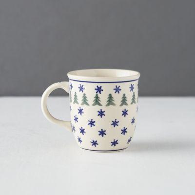 Snowflake + Evergreen Mug