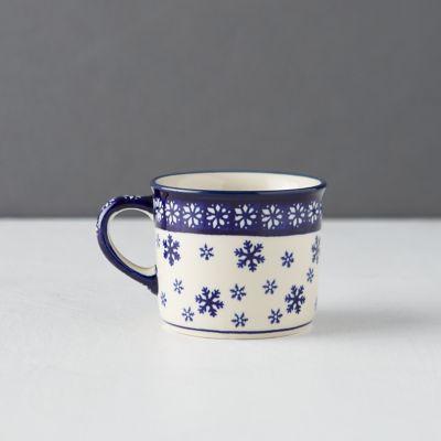 Nordic Star + Snowflake Mug
