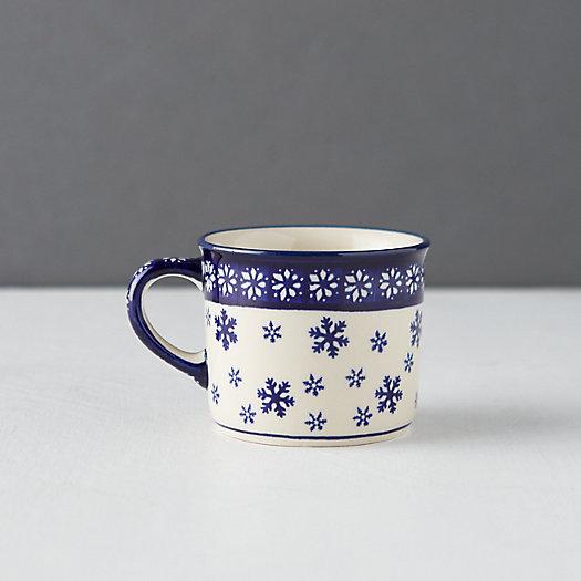 View larger image of Nordic Star + Snowflake Mug