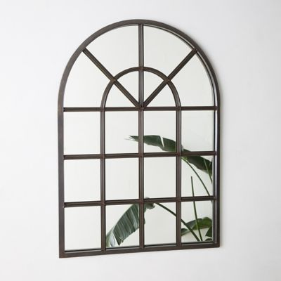 Arched Outdoor Mirror