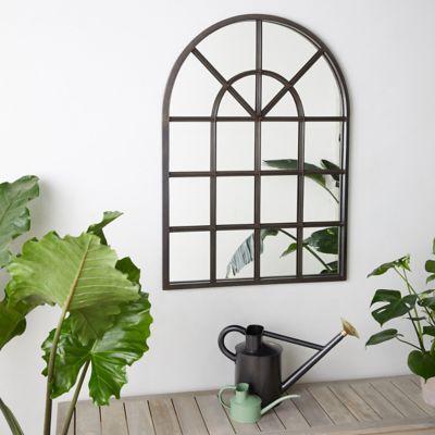 Arched Outdoor Mirror