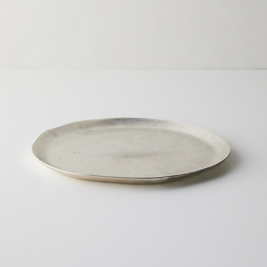 View larger image of Cast Aluminum Round Tray