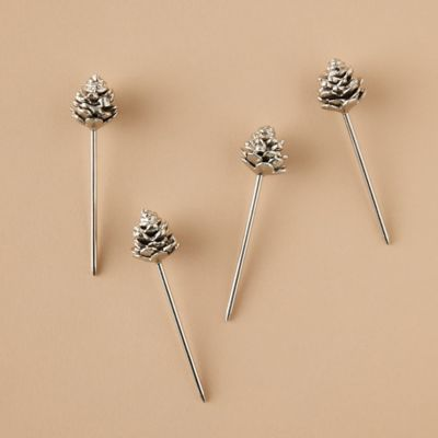 Pinecone Cocktail Stirrers