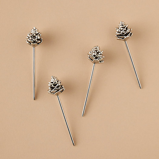 View larger image of Pinecone Cocktail Stirrers