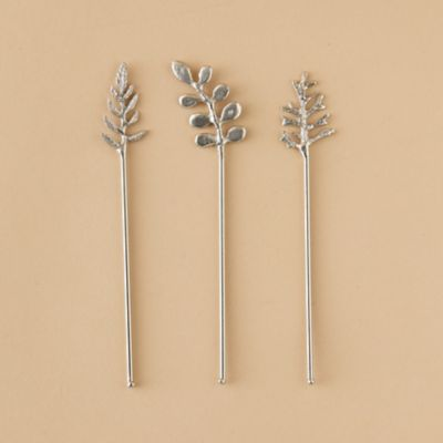 Leaf Cocktail Stirrers