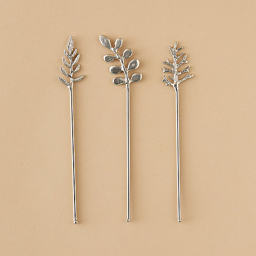 View larger image of Leaf Cocktail Stirrers