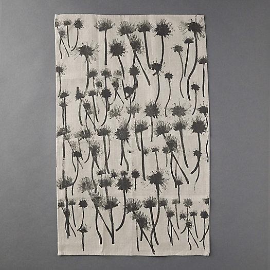 View larger image of Indigo Botanical Linen Tea Towel