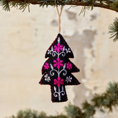 Colorful Evergreen Tree Ornament