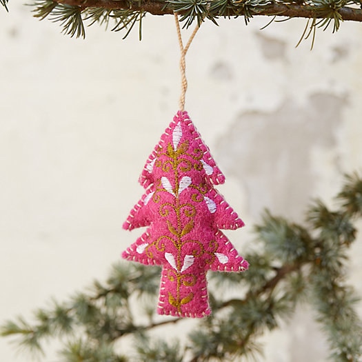 View larger image of Colorful Evergreen Tree Ornament
