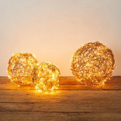 Stargazer Nature Effects Illuminated Vine Sphere