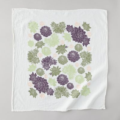 Hens + Chicks Tea Towel