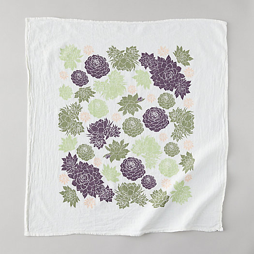 View larger image of Hens + Chicks Tea Towel