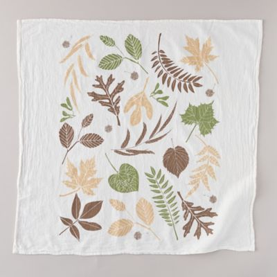 Fall Leaves Tea Towel