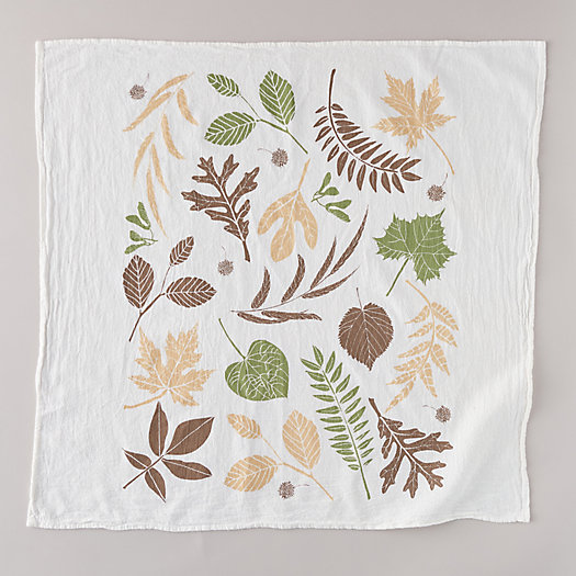 View larger image of Fall Leaves Tea Towel