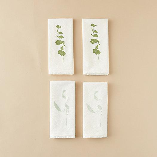 View larger image of Eucalyptus Stem Napkin Set