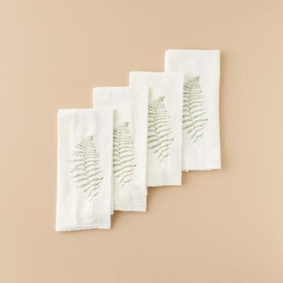 Wood Fern Napkin Set