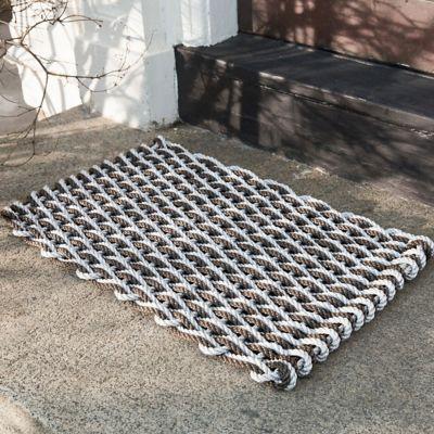Marine Rope Doormat, Espresso