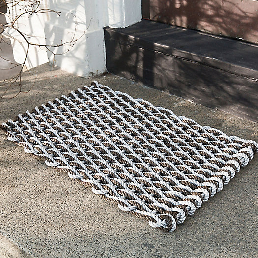 View larger image of Marine Rope Doormat, Espresso
