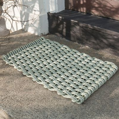 Marine Rope Doormat, Sage