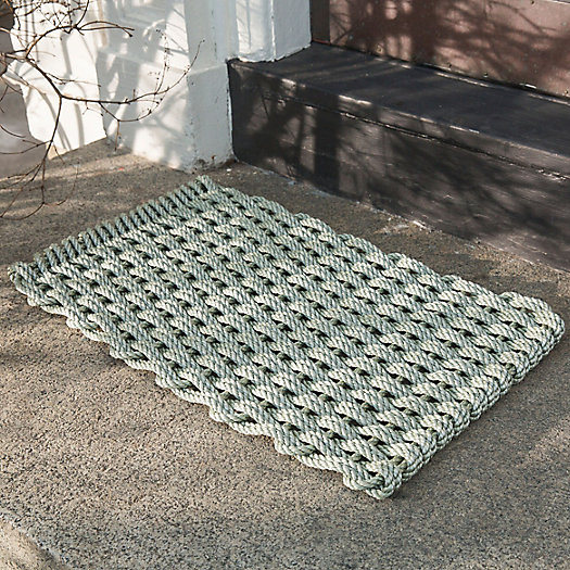 View larger image of Marine Rope Doormat, Sage