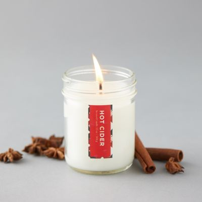 Hot Cider Mason Jar Candle