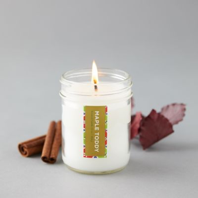 Maple Toddy Mason Jar Candle