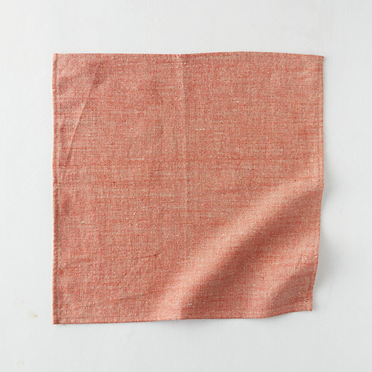 View larger image of Shimmer Linen Napkin